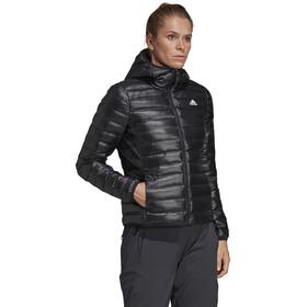 adidas TERREX Varilite Chaqueta de plumas con capucha Mujer, black
